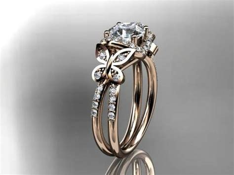 butterfly wedding ring butterfly engagement rings ideas