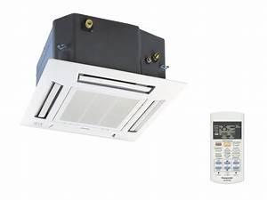 Bruit Climatisation Unite Interieure : unit int rieure cassette pour multi split cs me12pb4ea ~ Premium-room.com Idées de Décoration