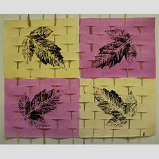 A Faithful Attempt Leaf Print Weaving