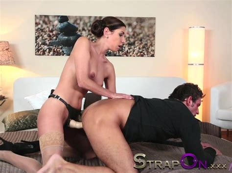 Strapon Beautiful Women Fucking Guy The Ass With Cock Anal