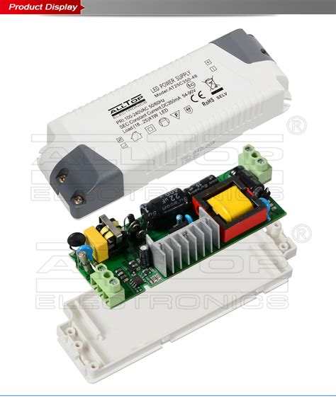 ce emc certification constant current 350ma 25w meanwell