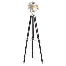 Photographers Tripod Floor L Bronze Finish by Spotlight Style Metal Floor L With An Adjustable Tripod