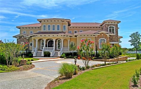 million waterfront mansion  wilmington nc homes