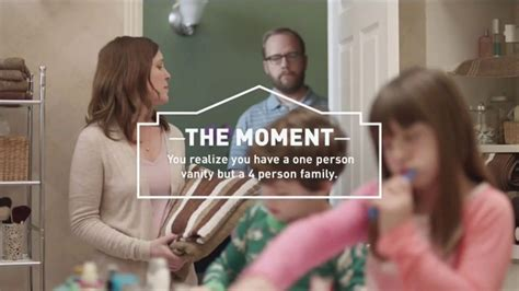 lowes tv commercial  moment vanity ispottv