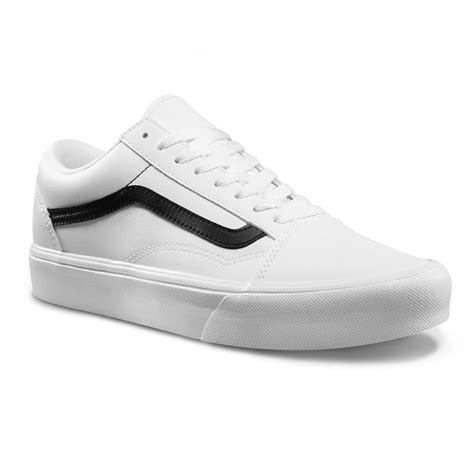 Vans Classic White sneakers vans skool lite classic tumble true white