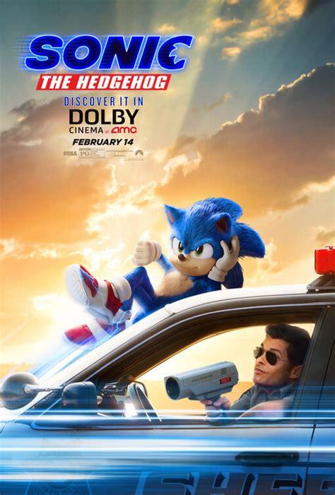 sonic  hedgehog  poster    imp awards