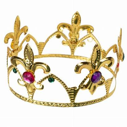 Crown Gold Metal Jeweled Crowns Mardigrasoutlet