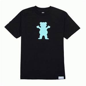 Grizzly Griptape Grizzly Bear Logo T-shirt