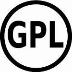 Gpl Icon License Svg Software Copyleft Wikimedia