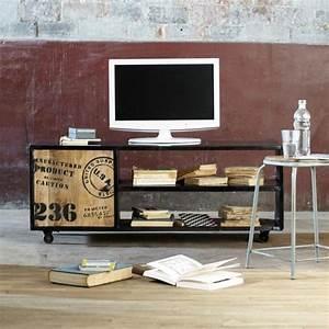 Maison Du Monde Meuble Tv : meuble tv bibliotheque idees accueil design et mobilier ~ Preciouscoupons.com Idées de Décoration