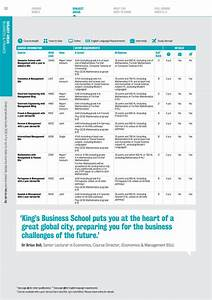 Undergraduate Guide 2020 By King U0026 39 S College London