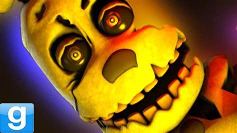 Brand New Animatronic!  Gmod Five Nights At Freddy's 3