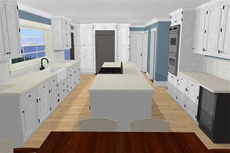 galley style kitchen with island galley kitchen island ideas