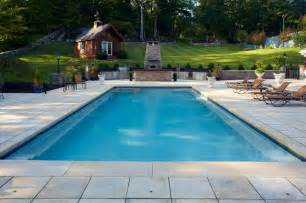 rectangle pools traditional pool new york by
