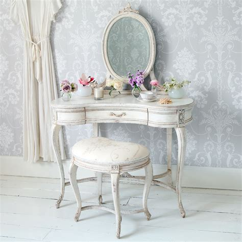 shabby chic image delphine shabby chic dressing table french bedroom company