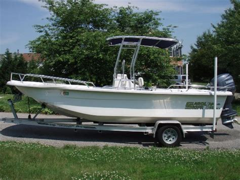 Carolina Skiff Boat Cover With T Top by Carolina Skiff 218 Dlv Sold The Hull