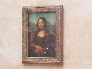 Mona Lisa - The Original Painting in Louvre Museum, Paris ...