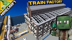 Minecraft Train Factory With Keralis Best Factory In