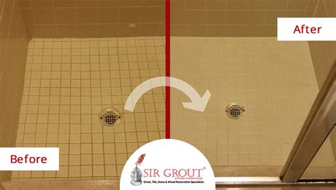 grout sealing revitalizes shower for new customer