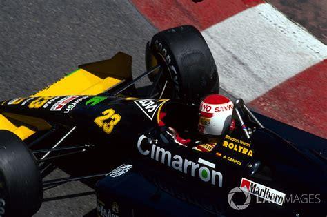 Adrián campos conoce a fernando alonso. Adrian Campos, Minardi Cosworth M188 at Monaco GP