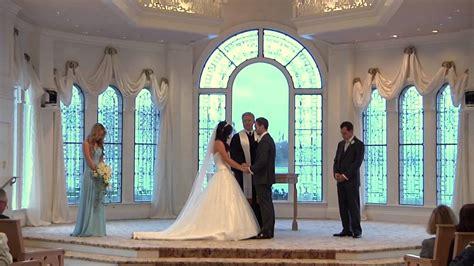 Nikki & Eric Wedding at the Walt Disney World Wedding Pavilion Orlando Florida   YouTube