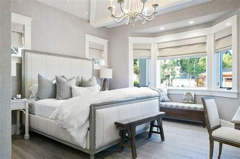 Bedroom Decor Transitional by White And Grey Bedrooms Transitional Bedroom