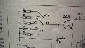 Transistor Voltmeter With Very High Input Impedance  Schematic 1963