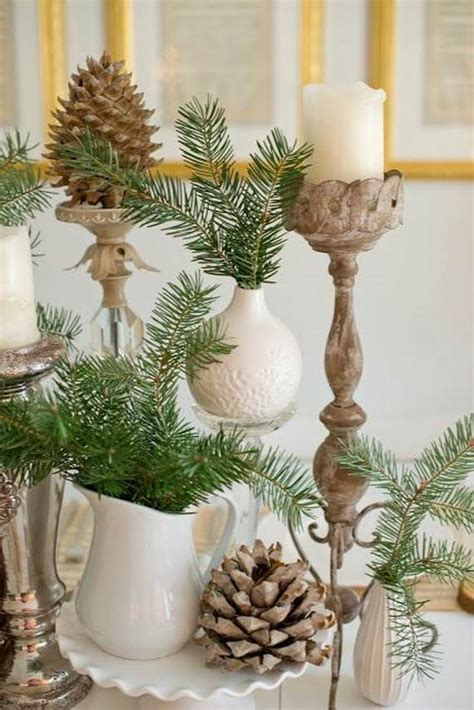 eco friendly holiday decorations   pine cones