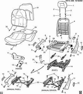 2002 Pontiac Grand Prix Spring  Front Seat Cushion