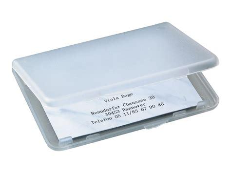 porte carte de bureau sigel porte cartes de visite plastique transparent