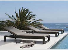 Manutti Fuse Sun Lounger Sun Loungers Modern Garden