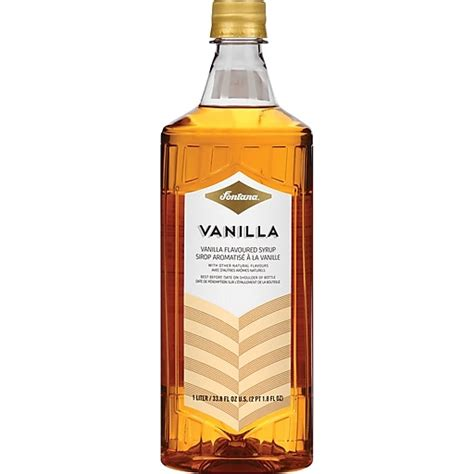 To make caramel iced coffee, mcdonald's style, just swap out the torani vanilla flavoring syrup above for 1 1/2 tablespoons of torani caramel coffee syrup. Fontana Vanilla Flavored Coffee Syrup, 1 Liter (NES41273) at Staples