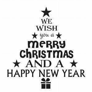 Christmas Holiday STENCIL 12x12 We wish you a merry*Tree ...