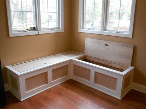 kitchen table nook with bench breakfast nook seating dining room traditional with