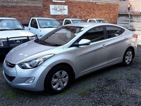 Hyundai Elantras For Sale 2012 hyundai elantra 1 6 gls for sale pietermaritzburg