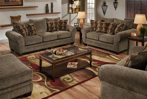 American Sofa Set by Fabric Modern Casual Sofa Loveseat Set W Wooden
