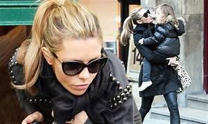 Abbey Clancy reunited with daughter Sophia after three ...