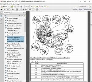 Pontiac Montana 2001 2002 2003 2004 Repair Manual