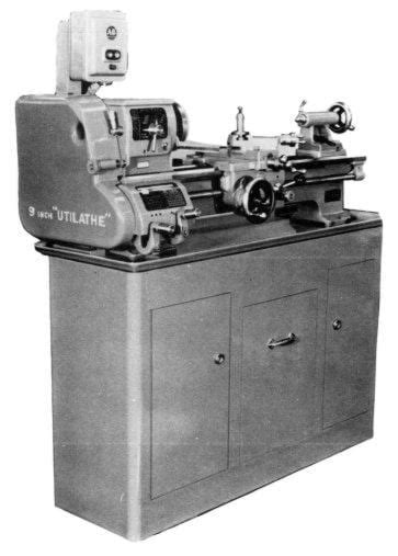 STANDARD-Modern 9 inch Utilathe Metal Lathe Operator's