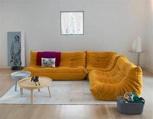 les beaux decors avec le canape togo legendaire archzinefr With tapis de course avec confort assise canapé