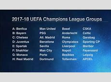 Juventus Barcelona Olympiakos and Sporting Lisbon in