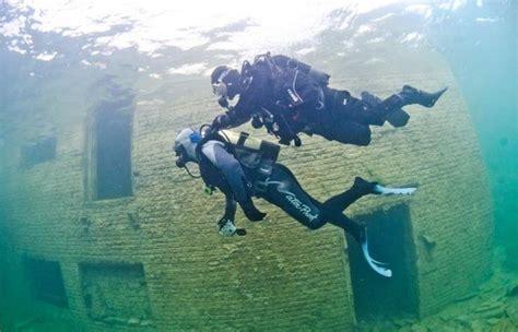 rummu underwater prison estonia