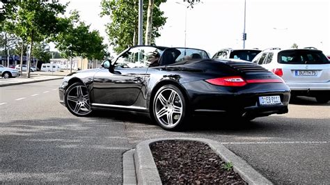 Great savings & free delivery / collection on many items. Porsche 997 Carrera 4S Cabriolet MkII Drive-Away - YouTube