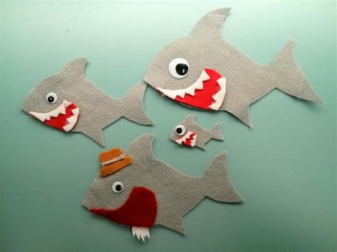 preschool shark song flannel friday baby shark and slippery fish jbrary 651