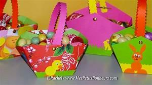 Bricolage De Paques Panier : bricolage petit panier en papier fabriquer pour les ~ Melissatoandfro.com Idées de Décoration