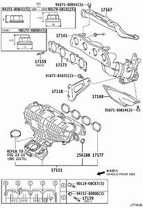 Toyota Prius Engine Intake Manifold  Exhaust  Directs
