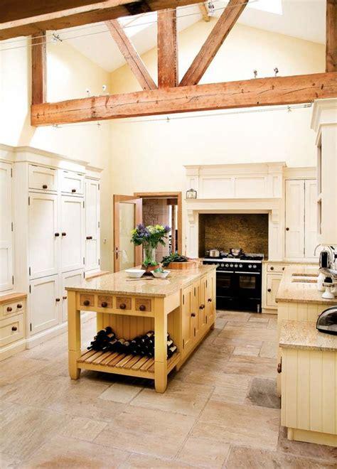 ilot cuisine bois massif cuisine style cagne 50 idées pour une déco réussie