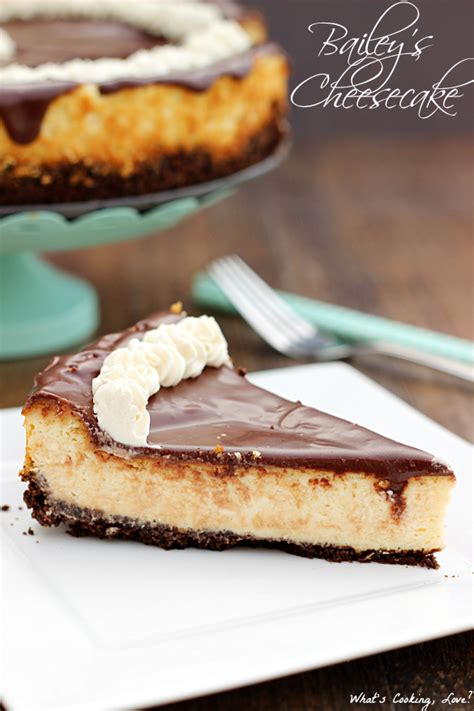 baileys cheesecake whats cooking love