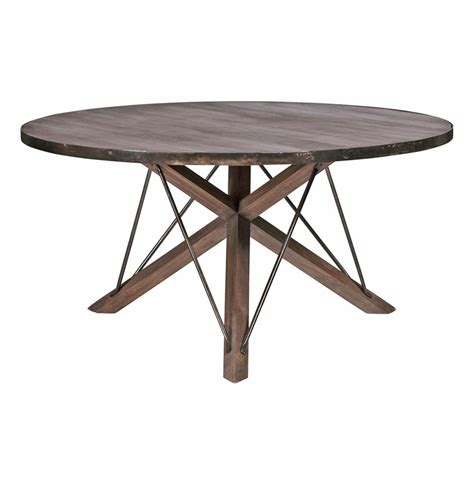 rustic industrial dining table works industrial loft wood iron modern rustic dining table