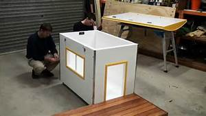 Insulated dog house assembly video youtube for How to build a dog house youtube